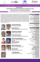 Fourth RECOMB Satellite Conference on Computational Proteomics, 2012